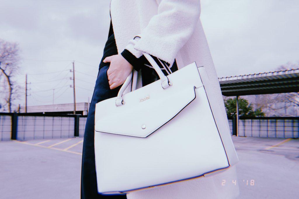 Everyone needs a white bag